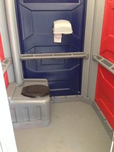 Handicap Portable Toilet Interior