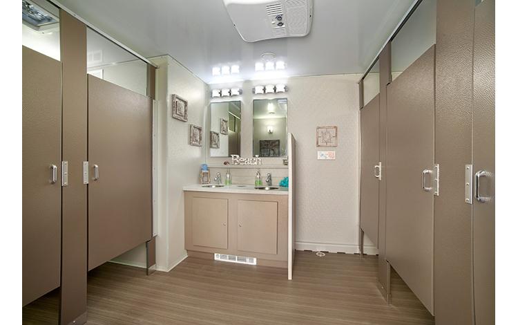 Luxury Women's Restroom