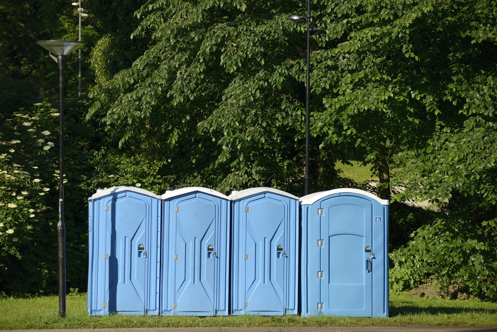 Porta-Potty Rentals For Event In North Texas