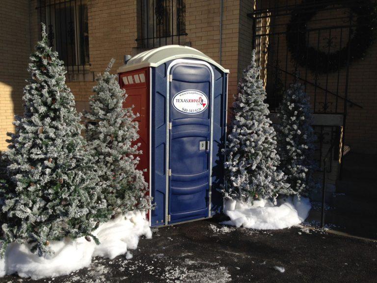 Christmas Porta Potty Rental - Texas Johns