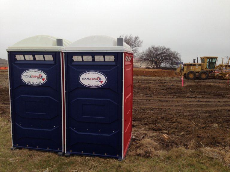 Texas Johns Portable Construction Restrooms