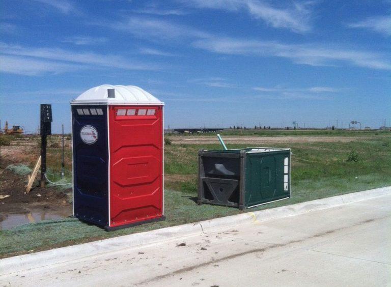 Construction Portable Toilets - Texas Johns