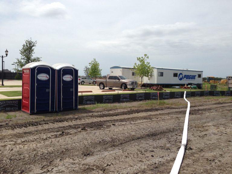 Texas Johns - Construction Portable Restrooms