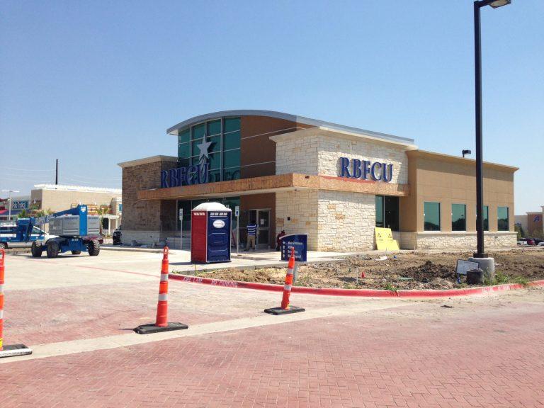 Frisco, Texas, Credit Union Construction - Texas Johns Portable Restrooms