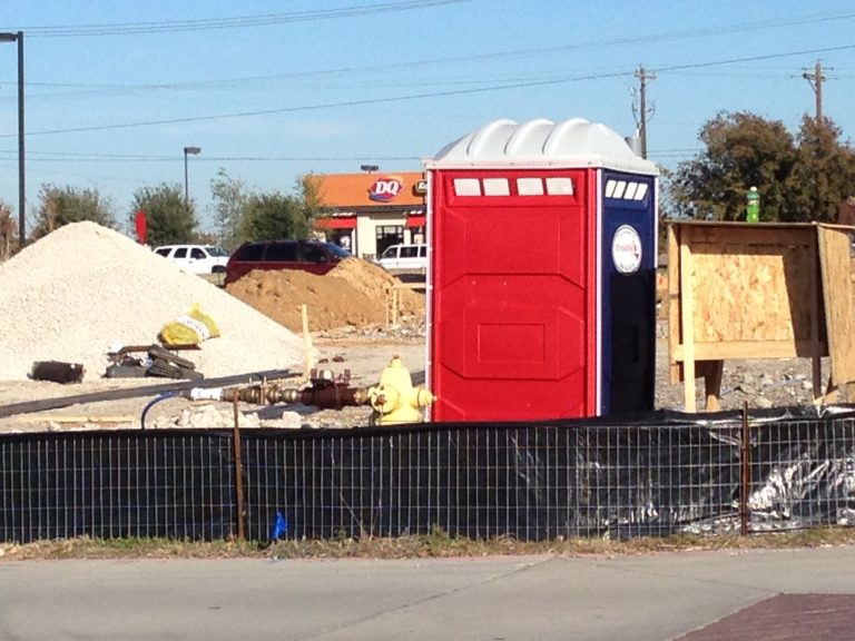 Texas Johns Portable Restrooms for Construction Sites